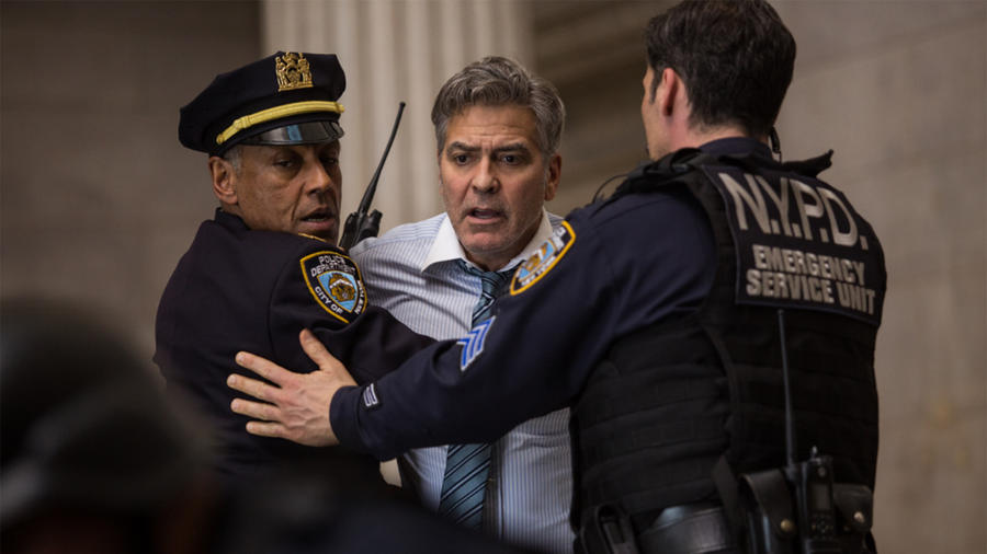 "George Clooney en ""Money Monster"""