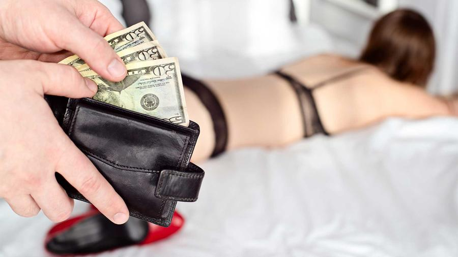 PROSTITUTE WITH MONEY