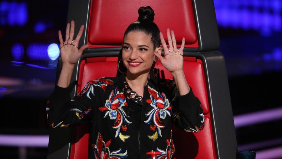 Natalia Jiménez audición a ciegas La Voz Kids 2016