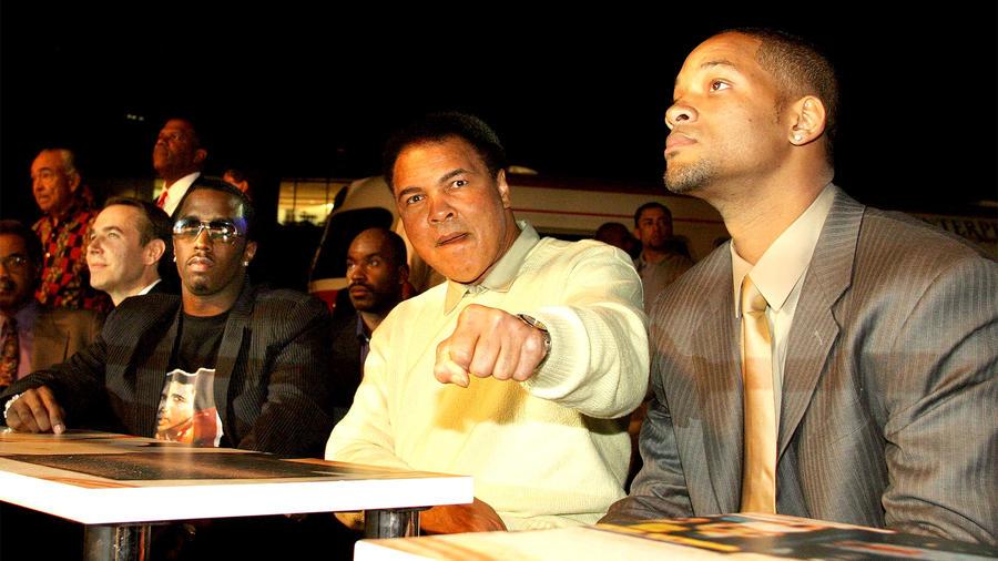 Muhammad Ali y Will Smith