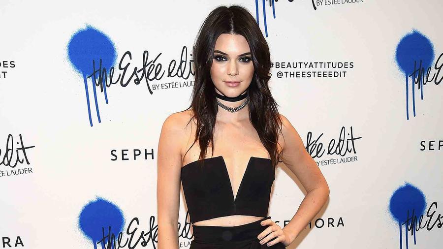Kendall Jenner en el lanzamiento de 'The Estee Edit' de Estee Lauder en Sephora