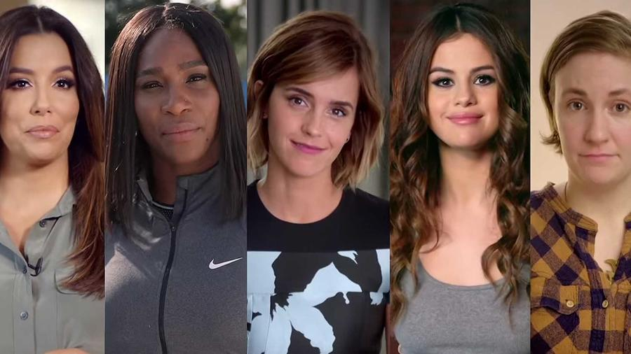 Celebridades que participan en la campaña #LeanInTogether