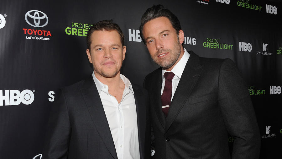 Matt Damon y Ben Affleck