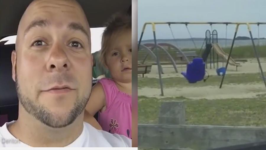 Un padre capta un supuesto fantasma en Rhode Island