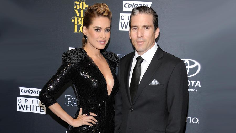 Galilea Montijo y esposo