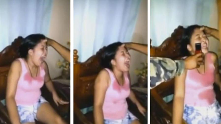 Le hacen un exorcismo a una joven que fue poseída por el supuesto espíritu de un duende (VIDEO)
