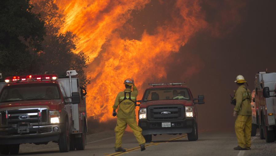 incendio forestal california