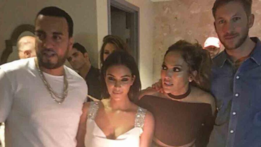 Jennifer Lopez celebra su cumpleaños con Kim Kardashian, Calvin Harris, Cristiano Ronaldo y más