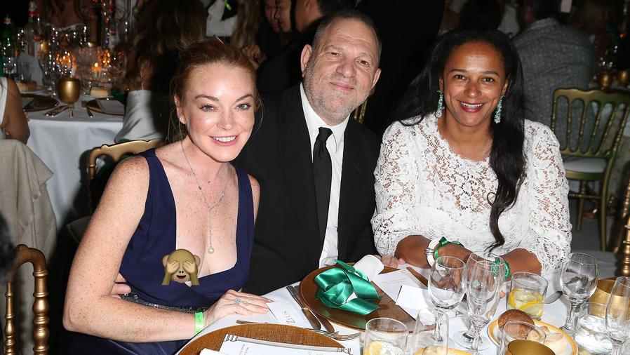Lindsay Lohan sufrió un fallo de vestuario y enseño de más