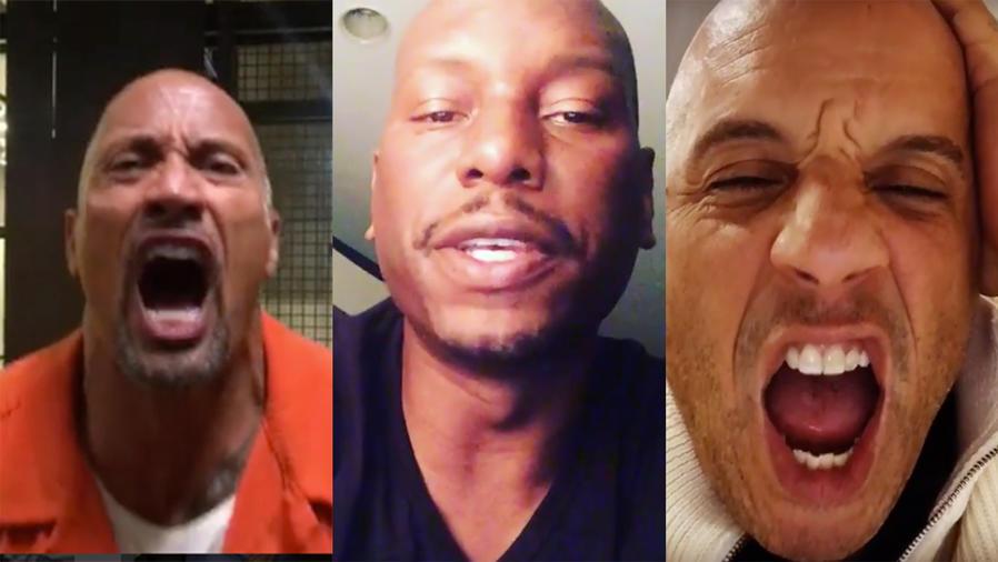 Tyrese apoya a Vin Diesel en su pelea con The Rock