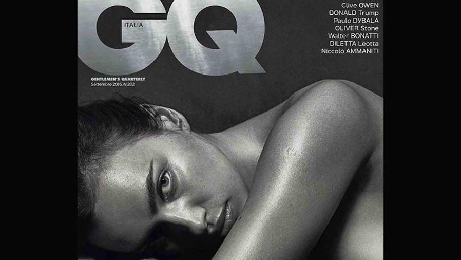 """Irina Shayk, desnuda en """"GQ Italia"""""""