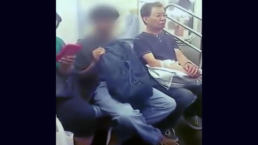 Una mujer insulta a un hombre que se masturba en el tren (VIDEO)