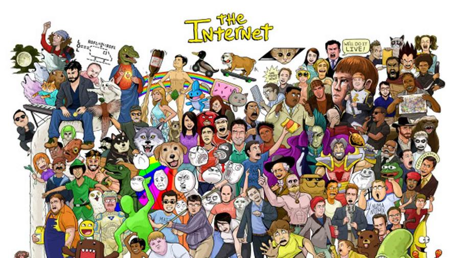 El internet en una imagen