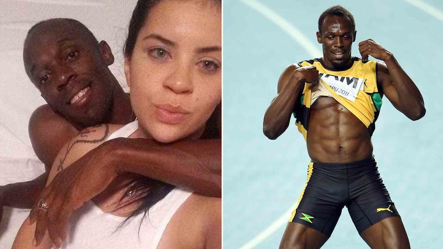 Usain Bolt y Jady Duarte