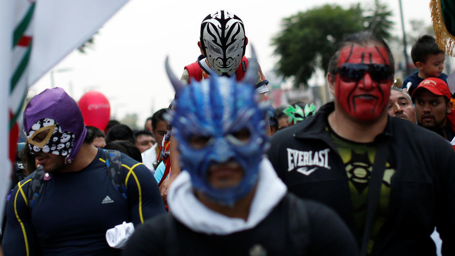 luchadores mexicanos