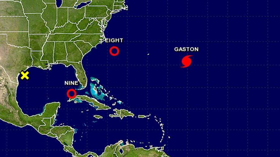 Depresión tropical avanza hacia el golfo de México