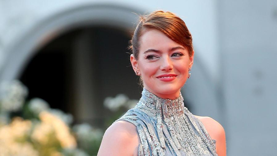 Emma Stone en la premire de 'La La Land' Premiere en el Venice Film Festival
