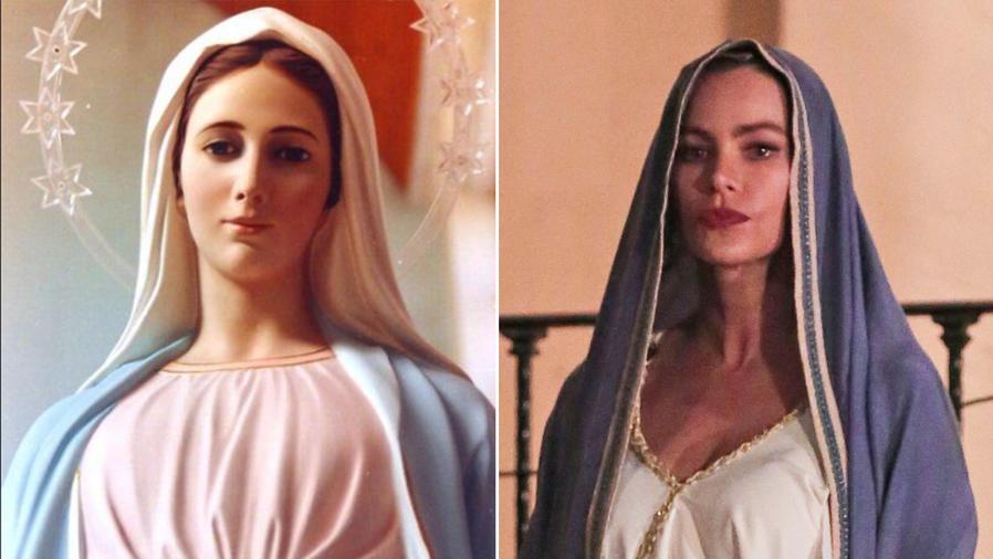 "Sofía Vergara se disfraza de la Virgen María para un episodio de Halloween en ""Modern Family"""
