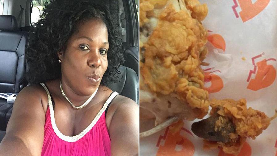 Encuentra una cabeza de rata frita en su orden de comida y lo denuncia en Facebook