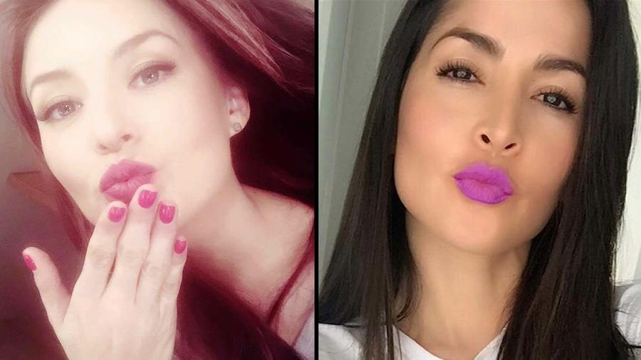 Kissy-face, Angelique Boyer, Carmen Villalobos