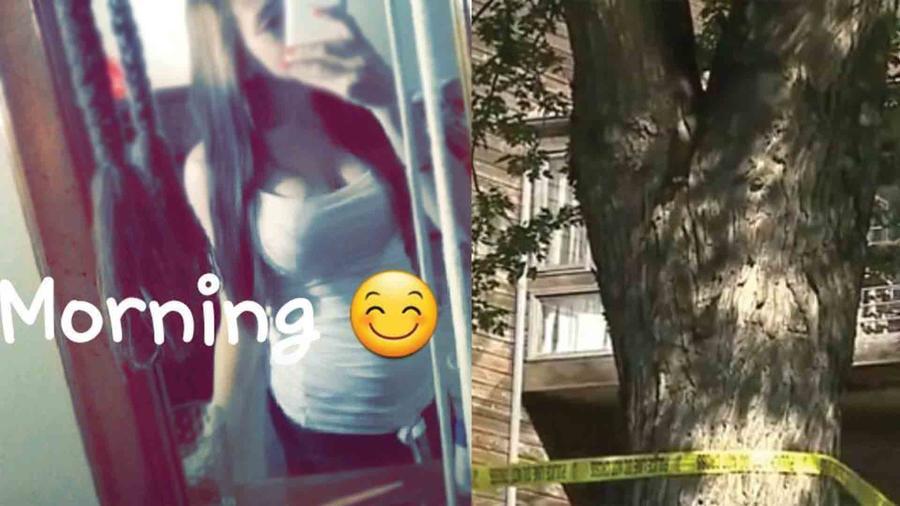 Antonia López embarazada