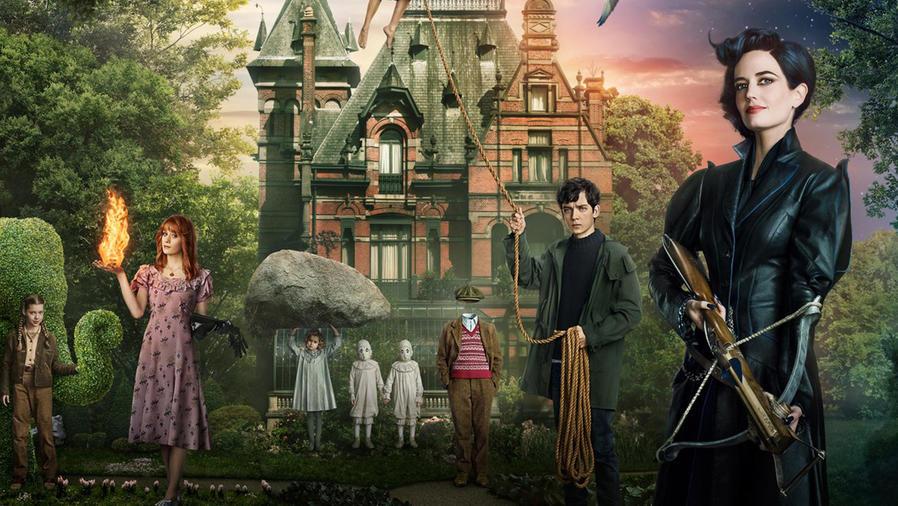 "Foto de la película ""Miss Peregrine's Home for Peculiar Children""."