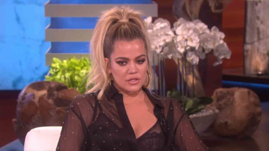 Kourtney Kardashian en The Ellen Show