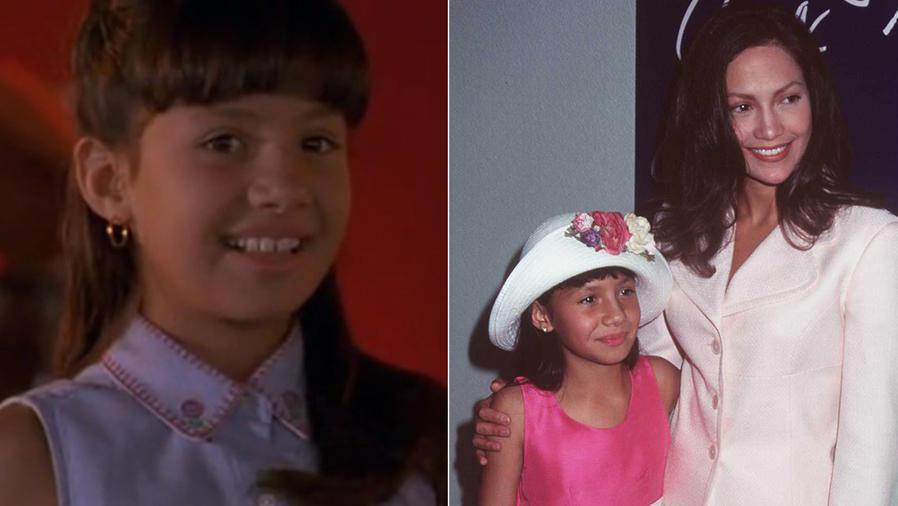Becky Lee Meza y Jennifer Lopez