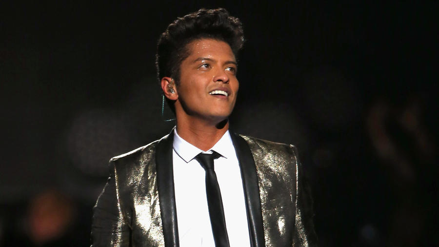 Bruno Mars en el SuperBowl 2014