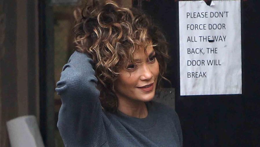 Jennifer Lopez en el set de Shades of Blue