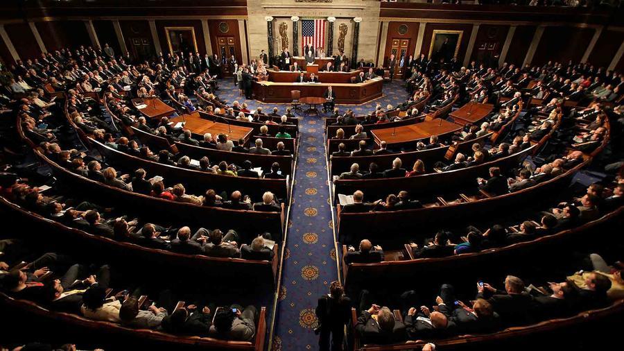 Foto de archivo del pleno de la Cámara de Representantes en sesión