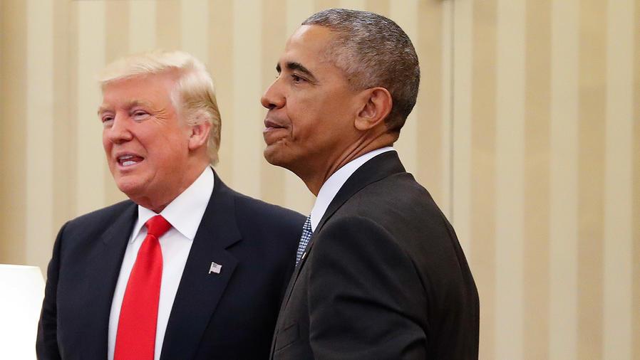 Barack Obama con el presidente electo, Donald Trump, en La Casa Blanca el 10 de Noviembre del 2016