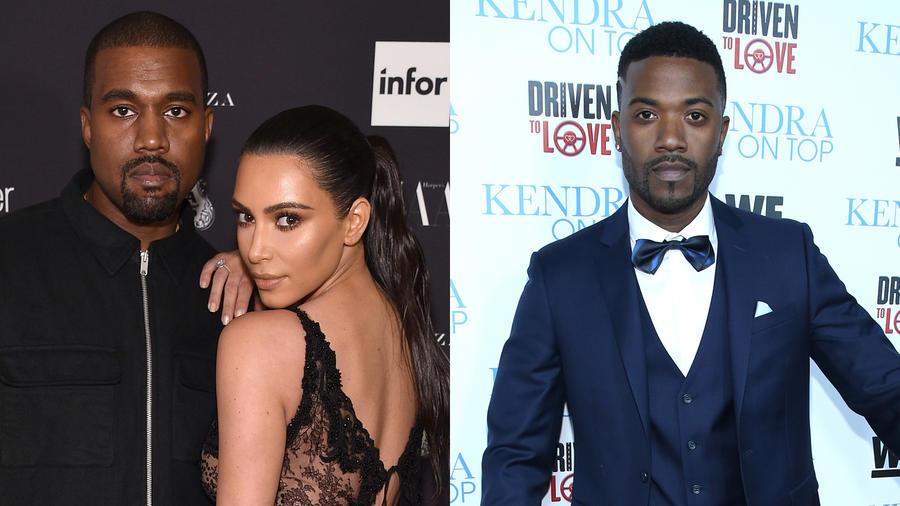 Kanye West, Kim Kardashian, Ray J