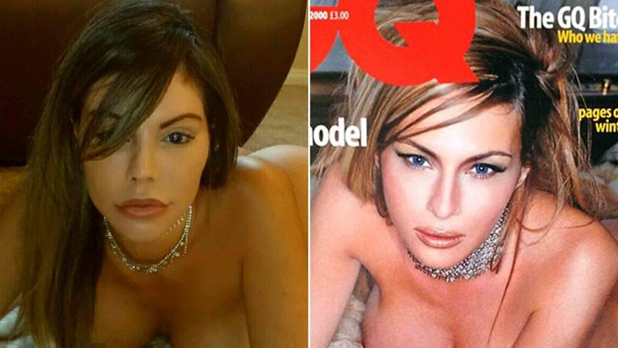 "Liziane Gutiérrez y Melania Trump desnuda en ""GQ"""