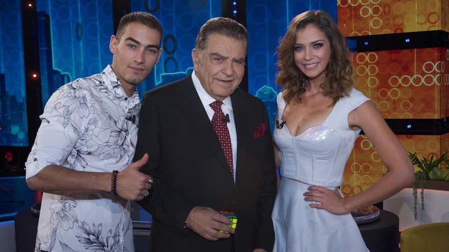 Don Francisco, Michel Duval y Carolina Miranda
