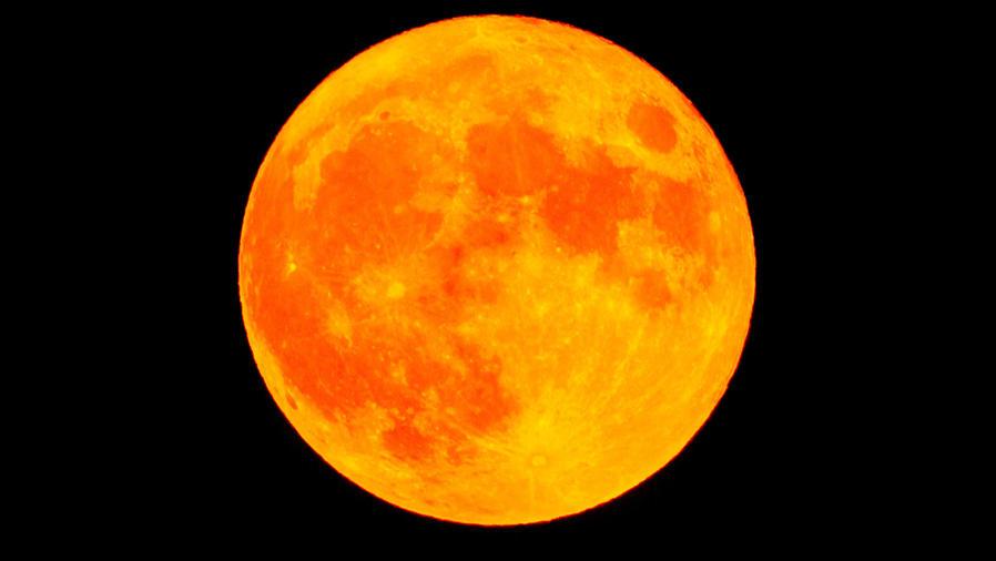 Súper luna naranja