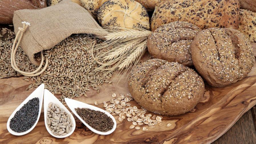 Granos y cereales, sueltos y en panes