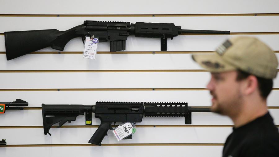 Un vendedor de armas en California