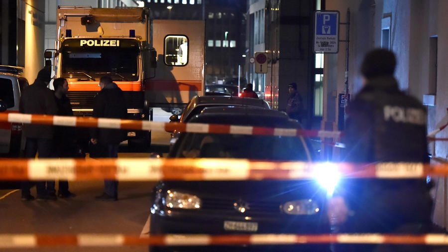 Heridos mezquita de Zurich