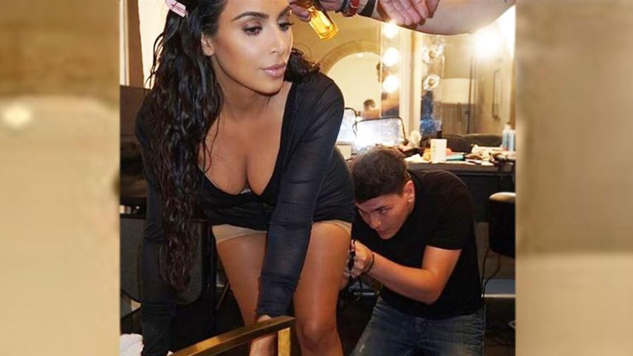 Kim Kardashian y Mario Dedivanovic