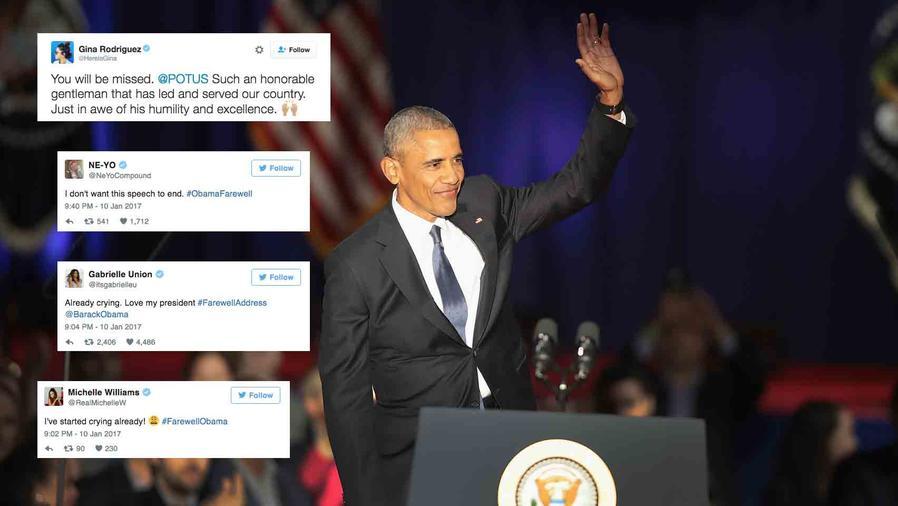 President Obama says his goodbyes