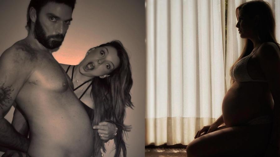 Julián Gil, Marjorie de Sousa, embarazo