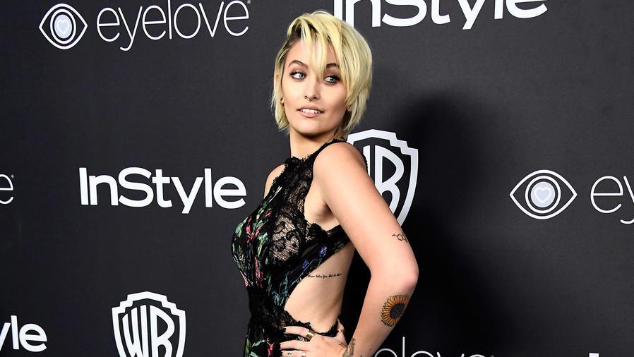 Paris Jackson en el post Golden Globes Party de Warner Bros.
