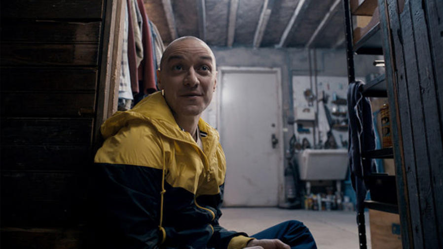 "James McAvoy en ""Split""."