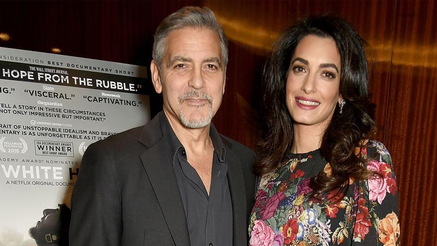 George Clooney y su esposa Amal están esperando mellizos