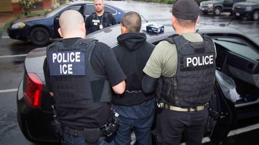Detención de inmigrantes en EEUU