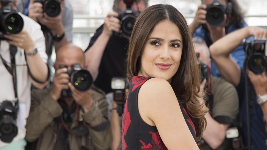 Salma Hayek en Cannes 2015