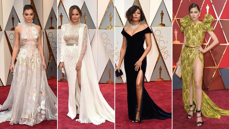 Algunos looks de la alfombra roja de los Oscars 2017