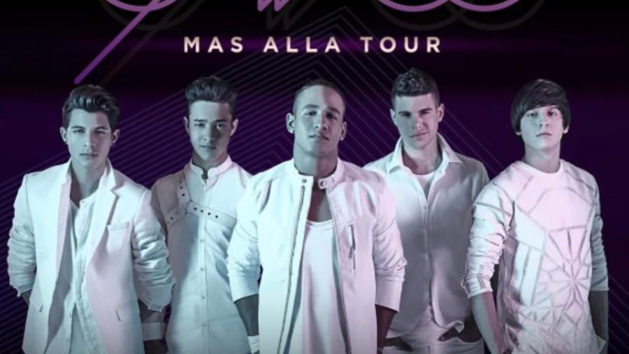 CNCO Mas Alla Tour