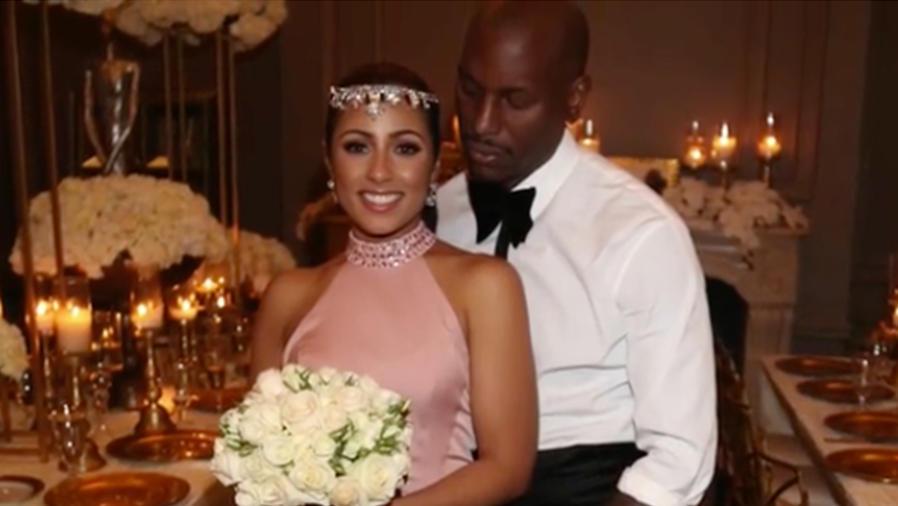 Así fue la boda secreta de Tyrese Gibson el día de San Valentín